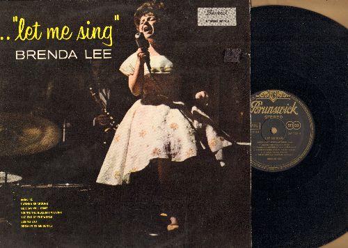 Lee, Brenda - Let It Be Me: He Loves You, Blue Velvet, Can't Buy Me Love, Danke Schoen, As Usual, Tammy, Dancing In The Street (vinyl STEREO LP record, GERMAN PRESSING) - NM9/EX8 - LP Records