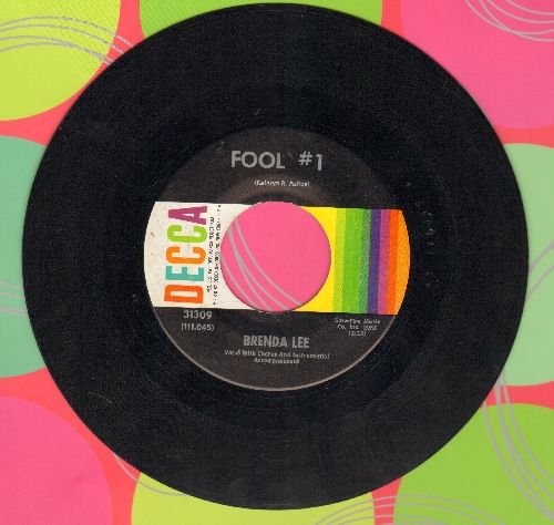 Lee, Brenda - Fool # 1/Anybody But Me  - EX8/ - 45 rpm Records