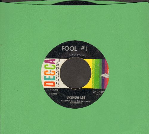 Lee, Brenda - Fool # 1/Anybody But Me  - VG7/ - 45 rpm Records