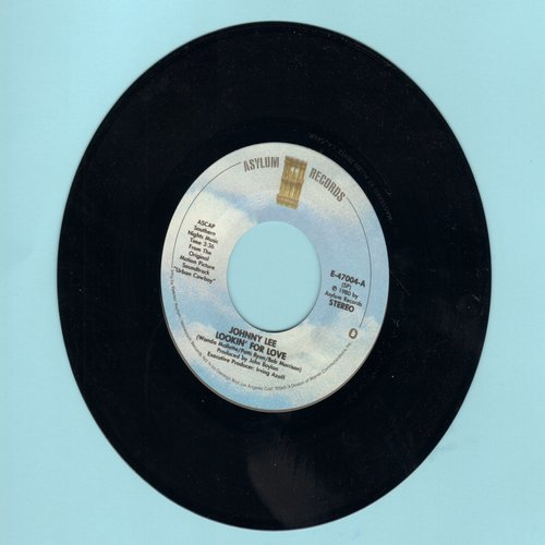 Lee, Johnny - Lookin' For Love/Lyin' Eyes (by The Eagles on flip-side; both songs featured in film -Urban Cowboy-) - VG7/ - 45 rpm Records