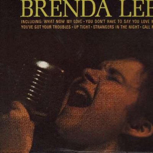 Lee, Brenda - Coming On Strong: What Now My Love, Up Tight, Strangers In The Night, Call Me, You Don't Have To Say You Love Me (vinyl STEREO LP record) - M10/EX8 - LP Records