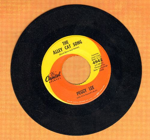 Lee, Peggy - The Alley Cat Song/Little Boat - NM9/ - 45 rpm Records