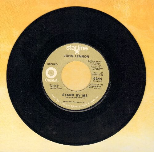 Lennon, John - Stand By Me/Woman Is The Ni**er Of The World (double-hit re-issue) - NM9/ - 45 rpm Records