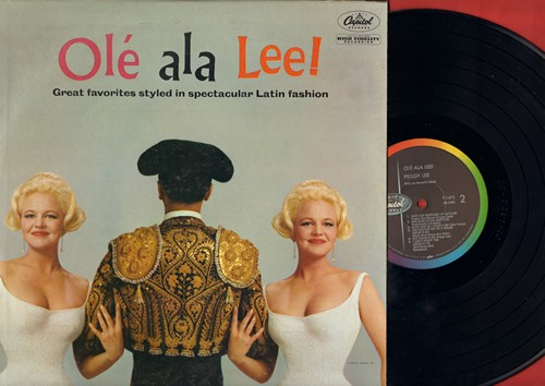 Lee, Peggy - Ole ala Lee!: Love And Marriage, Come Dance With Me, Together Wherever We Go (vinyl MONO LP record) - M10/NM9 - LP Records