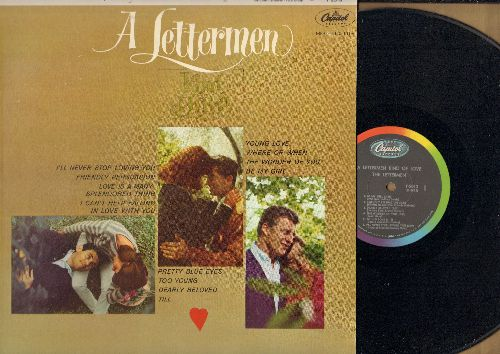 Lettermen - A Lettermen Kind Of Love: Friendly Persuasion, Young Love, Where Or When, Pretty Blue Eyes, Till, Too Young, Love Is A Many-Splendored Thing (vinyl MONO LP record) - EX8/EX8 - LP Records