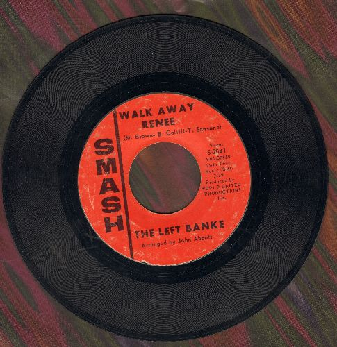 Left Banke - Walk Away Renee/I Haven't Got The Nerve - VG7/ - 45 rpm Records