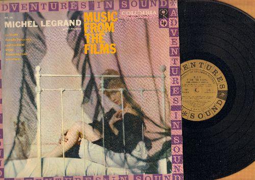 Legrand, Michel & His Orchestra - Music From The Films: La Stranda, Friendly Persuasion, Grisbi, Smile (vinyl MONO LP record) - EX8/VG7 - LP Records