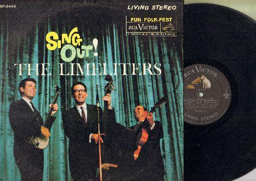 Limeliters - Sing Out!: Jehosephat, A Wayfaring Stranger, Joy Across The Land, Gotta Travel On, Charmin' Betsy (vinyl STEREO LP record) - NM9/VG6 - LP Records