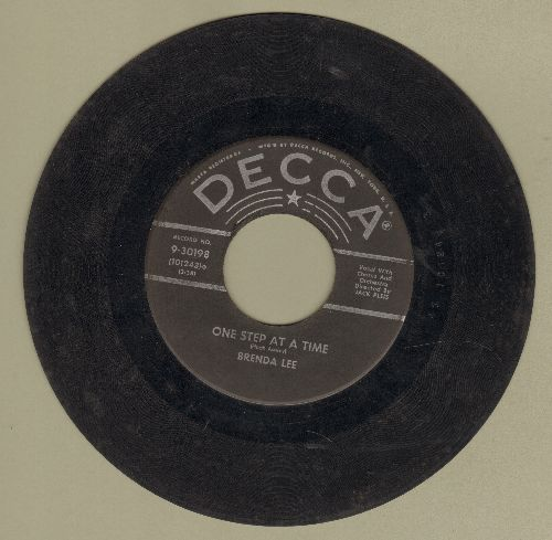 Lee, Brenda - One Step At A Time/Fairyland  - G5/ - 45 rpm Records