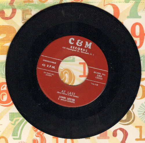 Lester, John - At Last (VERY NICE male version of the Etta James Classic!)/Getting Nearer - NM9/ - 45 rpm Records
