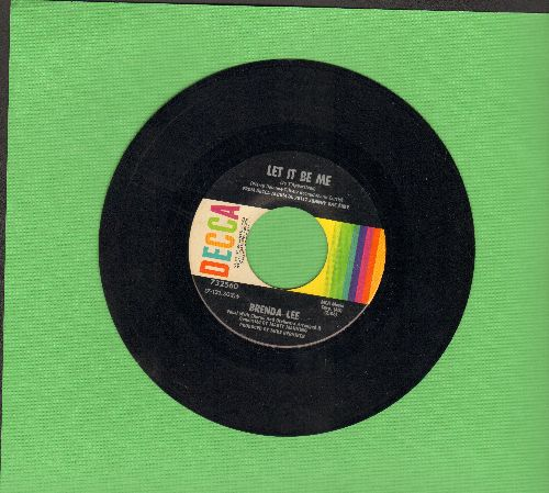 Lee, Brenda - Let It Be Me/You Better Move On  - VG7/ - 45 rpm Records