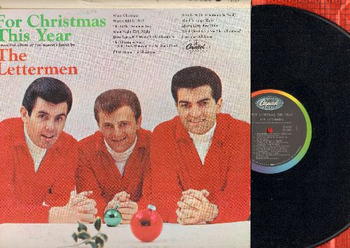 Lettermen - For Christmas This Year: White Christmas, Have Yourself A Merry Little Christmas, I'll Be Home For Christmas, The Christmas Song (vinyl MONO LP record) - NM9/EX8 - LP Records