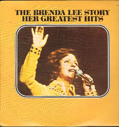 Lee, Brenda - The Brenda Lee Story: I'm Sorry, Thanks A Lot, I Want To Be Wanted, Jambalaya, Sweet Nothin's (2 vinyl LP records, 1973 re-issue of vintage recordings) - NM9/VG7 - LP Records