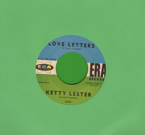 Lester, Ketty - Love Letters/I'm A Fool To Want You - VG7/ - 45 rpm Records