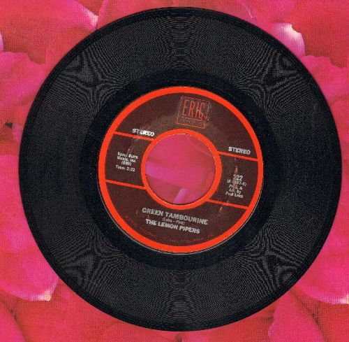 Lemon Pipers - Green Tambourine/Yummy Yummy Yummy (by Ohio Express on flip-side) - NM9/ - 45 rpm Records