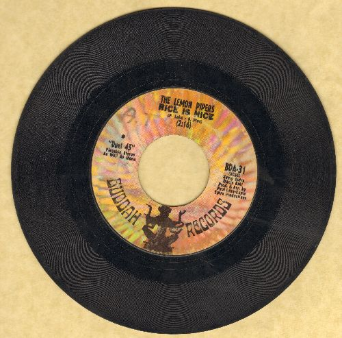 Lemon Pipers - Rice Is Nice/Blueberry Blue  - VG7/ - 45 rpm Records