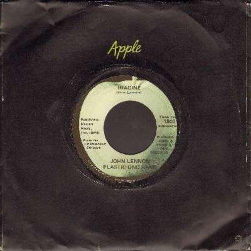 Lennon, John - Imagine/It's So Hard (with Apple company sleeve) - EX8/ - 45 rpm Records