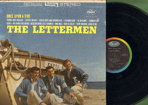 Lettermen - Once Upon A Time: Summer's Gone, How Is Julie?, My Funny Valentine, Lover's Beach, Turn Around Look At Me, 16 Reasons (vinyl STEREO LP record, NICE condition!)  - EX8/EX8 - LP Records