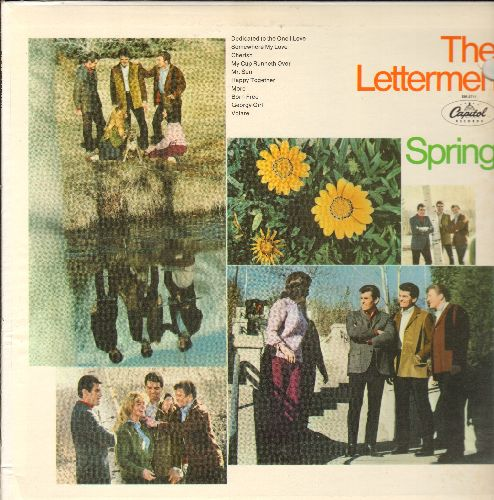 Lettermen - Spring!: More, The Impossible Dream, Born Free, Happy Together, Cherish, Georgy Girl, Volare, My Cup Runneth Over, Somewhere My Love (vinyl STEREO LP record) - NM9/EX8 - LP Records