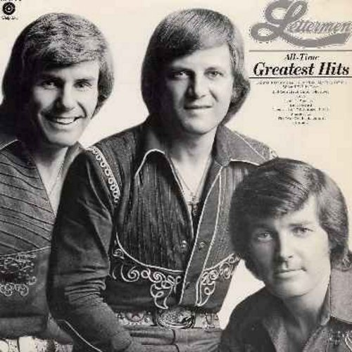 Lettermen - All-Time Greatest Hits: When I Fall In Love, Put Your Head On My Shoulder, Theme From -A Summer Place-, The Way You Look Tonight, I Believe (vinyl STEREO LP record) - NM9/EX8 - LP Records