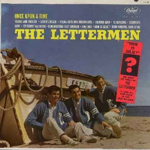 Lettermen - Once Upon A Time: Summer's Gone, How Is Julie?, My Funny Valentine, Lover's Beach, Polka Dots And Moonbeams, Turn Around Look At Me, 16 Reasons (vinyl MONO LP record, NICE condition!) (soc) - VG7/VG7 - LP Records
