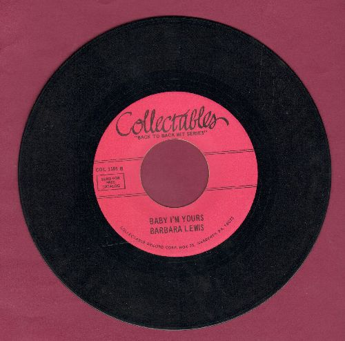 Lewis, Barbara - Baby I'm Yours/Hello Stranger (double-hit re-issue) - VG7/ - 45 rpm Records