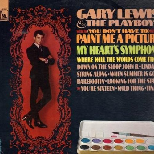 Lewis, Gary & The Playboys - You Don't Have To Paint Me A Picture: String Along, Wild Thing, You're Sixteen, My Heart's A Symphony, Barefootin' (vinyl STEREO LP record) - NM9/VG7 - LP Records