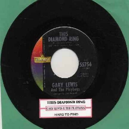 Lewis, Gary & The Playboys - This Diamond Ring/Tijuana Wedding (with juke box label) - NM9/ - 45 rpm Records
