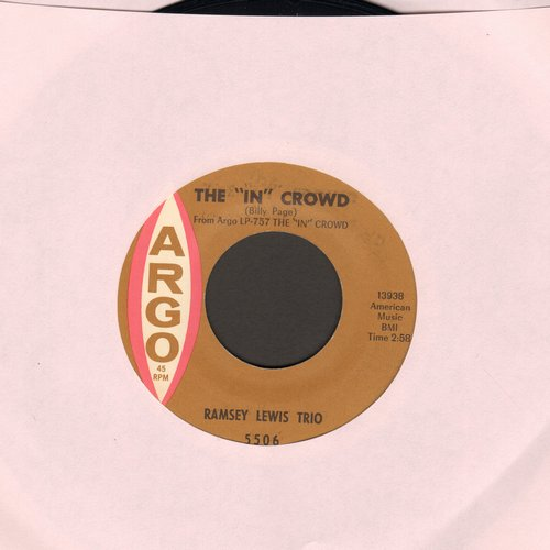 Lewis, Ramsey Trio - The In Crowd/Since I Fell For You  - VG7/ - 45 rpm Records