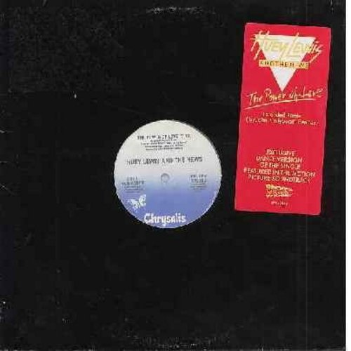 Lewis, Huey & The News - The Power Of Love (included 7:10 minutes Extended Dance Version, $:18 minutes Radio Version and 4:12 minutes Instrumental Version of hit from film -Back To The Future-) (12 inch 33rpm vinyl Maxi Single) - EX8/ - Maxi Singles