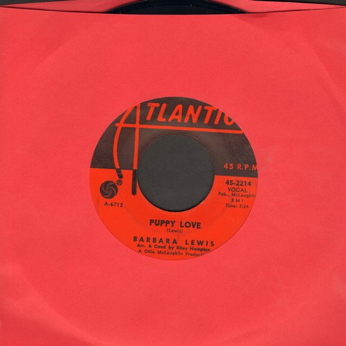 Lewis, Barbara - Snap Your Fingers/Puppy Love (FANTASTIC flip side!)  - EX8/ - 45 rpm Records