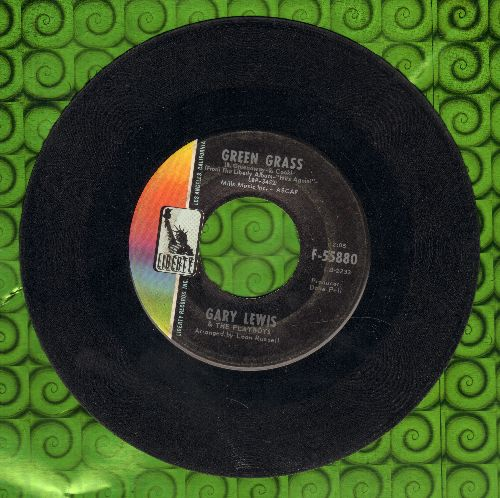 Lewis, Gary & The Playboys - Green Grass/I Can Read Between The Lines (wol) - VG7/ - 45 rpm Records