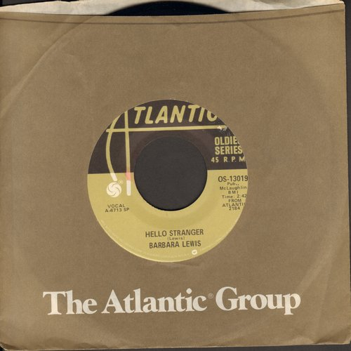 Lewis, Barbara - Hello Stranger/Make Me Belong To You (re-issue with juke box label) - VG7/ - 45 rpm Records