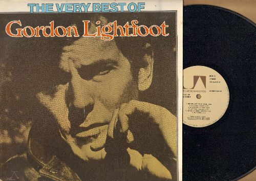 Lightfood, Gordon - The Very Best Of: Early Mornin' Rain, Walls, Did She Mention My Name, If I Could, For Lovin' Me (vinyl STEREO LP record, corner cut-out) - NM9/EX8 - LP Records