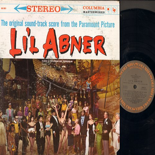 Li'l Abner - Li'l Abner - Original Motion Picture Sound Track (vinyl STEREO LP record, 1980s re-issue of vintage recordings) - NM9/VG7 - LP Records