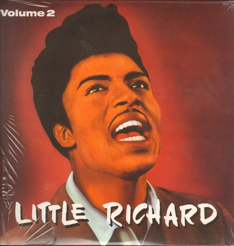 Little Richard - Little Richard Vol.2: The Girl Can't Help It, Keep A Knockin', Send Me Some Lovin', Baby Face (vinyl LP record, re-issue of vintage recordings on 180 gram virgin vinyl, EU Import) - SEALED/SEALED - LP Records