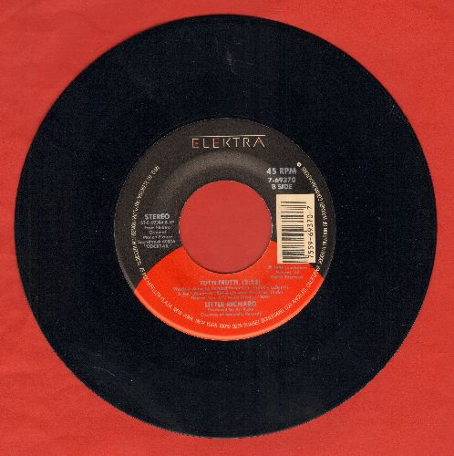 Little Richard - Tutti Frutti/Rave On (by John Cougar Mellencamp on flip-side)  - NM9/ - 45 rpm Records
