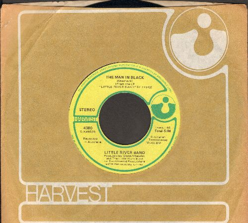Little River Band - The Man In Black/I'll Always Call Your Name (with RARE Harvest company sleeve) - NM9/ - 45 rpm Records