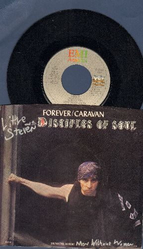 Little Steven & The Desciples Of Soul - Foever/Caravan (with picture sleeve) - NM9/VG7 - 45 rpm Records