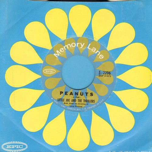 Little Joe & The Thrillers - Peanuts/Lilly Lou (re-issue) - NM9/ - 45 rpm Records