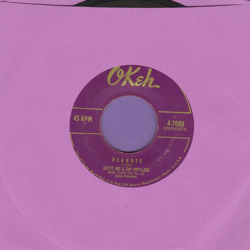 Little Joe & The Thrillers - Peanuts/Lilly Lou (purple label) - VG7/ - 45 rpm Records