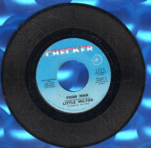 Little Milton - Poor Man/So Blue (Without You) (FANTASTIC 60s Soul 2-sider!) - NM9/ - 45 rpm Records