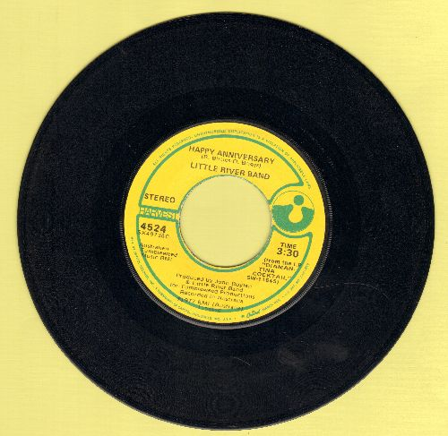 Little River Band - Happy Anniversary/Changed And Different - VG7/ - 45 rpm Records