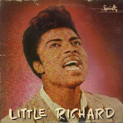 Little Richard - Little Richard: The Girl Can't Help It, Send Me Some Loving, Lucille, Good Golly Miss Molly, Keep A Knockin', Baby Face, Tutti Frutti, Rip It Up, Oh My Soul, Long Tall Sally (vinyl STEREO LP record, RARE first issue) - VG6/VG6 - LP Record