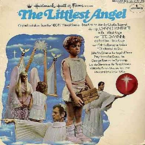 Whitaker, Johnny, Fred Gwynne, Tony Randall - The Littlest Angel: Original TV Musical Special (vinyl LP record) - NM9/VG7 - LP Records