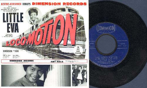 Little Eva - The Loco-Motion/He Is The Boy (first pressing with repro art cover) - EX8/ - 45 rpm Records
