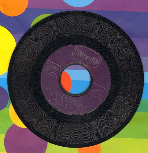 Little Eva - The Trouble With Boys/What I Gotta Do (To Make You Jealous) - EX8/ - 45 rpm Records