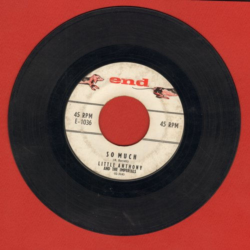 Little Anthony & The Imperials - So Much/Oh Yeah  - VG7/ - 45 rpm Records