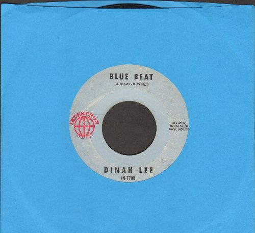 Lee, Dinah - Blue Beat (FANTASTIC Novelty following the global popularity of the Jamaican Dance Craze)/Don't Talk About Love - VG7/ - 45 rpm Records