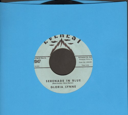 Lynne, Gloria - Serenade In Blue/Without A Song - NM9/ - 45 rpm Records